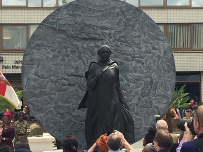 VIDEO: Jamaican nurse statue unveiled in London